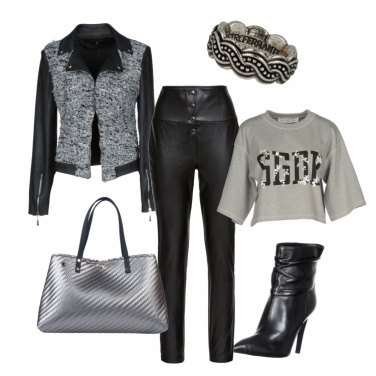 Outfit Felpa fashion