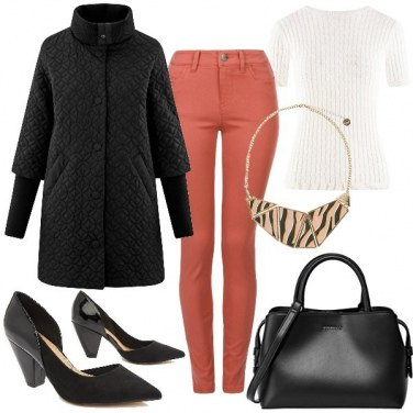 Outfit I jeans colorati