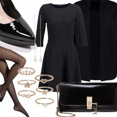 Outfit Black pearl