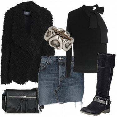 Outfit Cuore Biker