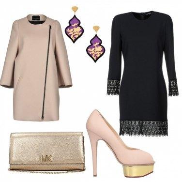 Outfit Chic elegante di sera