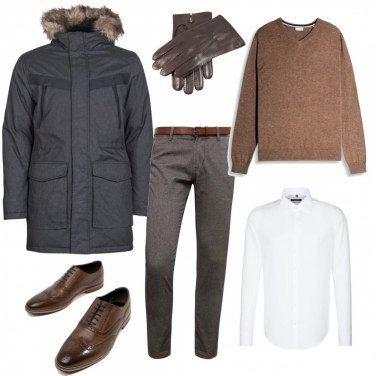 Outfit Parka casual