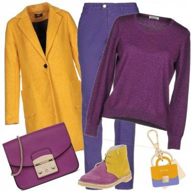 Outfit Amo vivere a colori