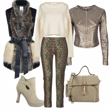 Outfit Glam chic