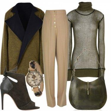 Outfit Donna dai colori caldi