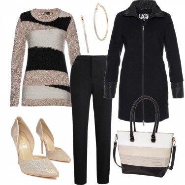Outfit La maglia in lurex