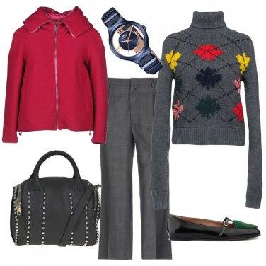 Outfit Collo alto anti freddo