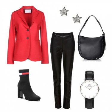 Outfit Urban-red