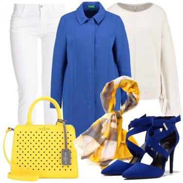 Outfit Carta bianca agli accessori