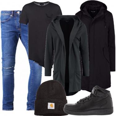 Outfit La felpa lunga