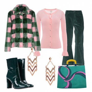 Outfit Street style colorato