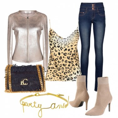 Outfit La felpa da party
