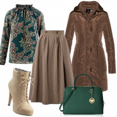 Outfit Loungette svasata