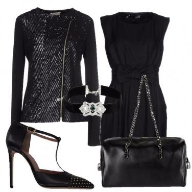 Outfit Di sera in nero