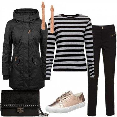 Outfit Pink black panter