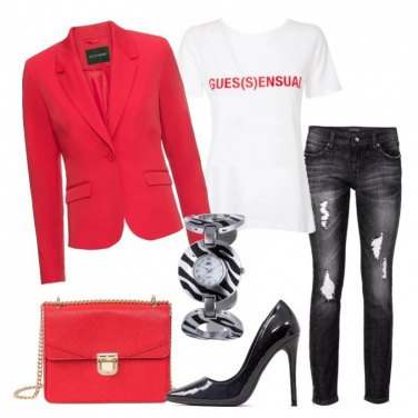 Outfit Irresistibile in décolleté