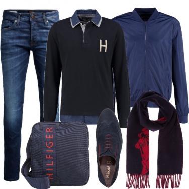 Outfit Tempo libero in blu