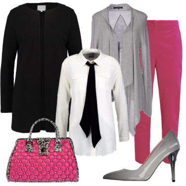 Outfit Incursioni fucsia