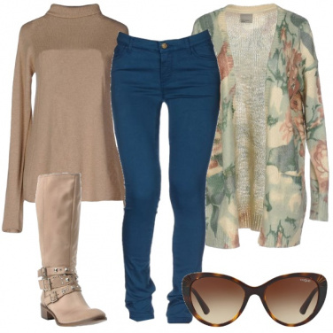 Outfit Comoda con gli stivali