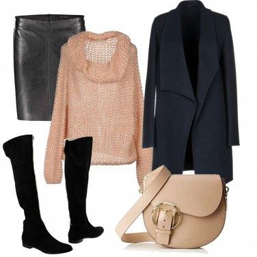 Outfit Maglione soffice e caldo