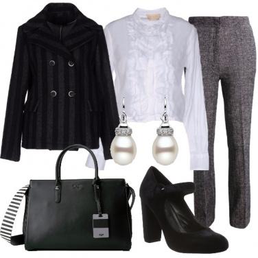 Outfit Rigorosamente romantica