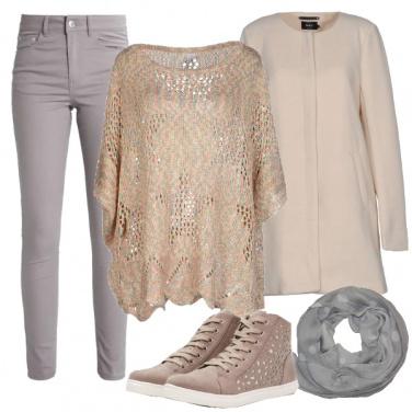Outfit Semplice e non appariscente