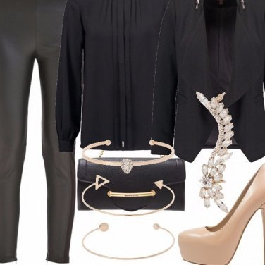 Outfit Total black 2.0