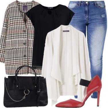 Outfit Oggi tacchi rossi