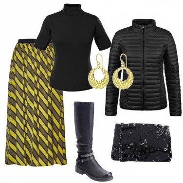 Outfit La tracolla di paillettes