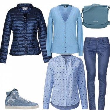 Outfit =Look#mi vesto bene con poco di più