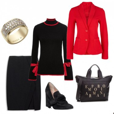 Outfit Bon ton a lavoro