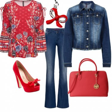 Outfit Basic per San Valentino