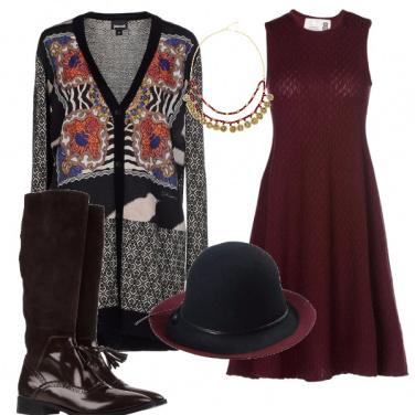 Outfit Una puntata di miss marple