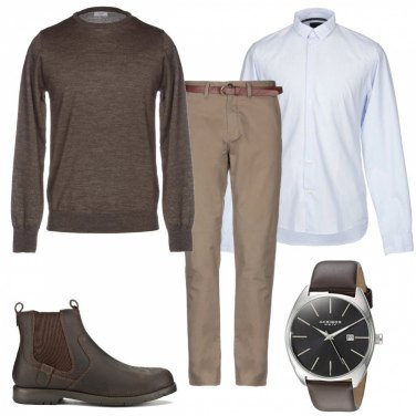 Outfit Stivaletti casual