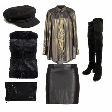 Outfit Gold con stile
