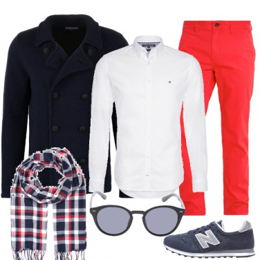 Outfit Un uomo a colori