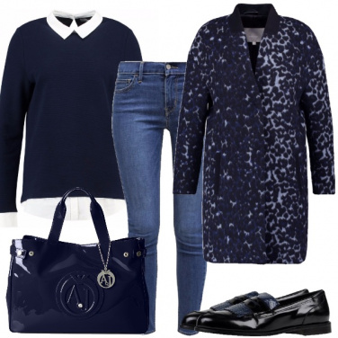 Outfit Collegiale selvaggia