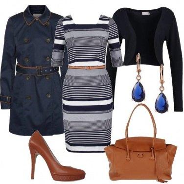 Outfit Tubino quadrato