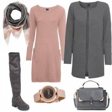 Outfit Pashmina a quadri