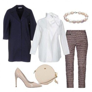 Outfit La camicia bianca particolare