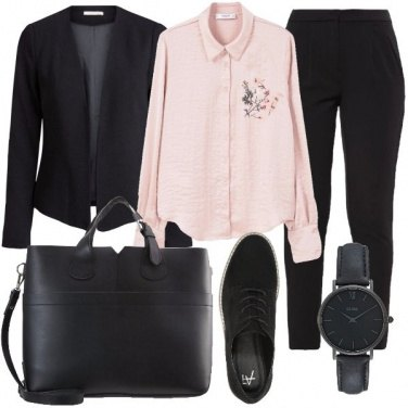 Outfit Insolito mannish