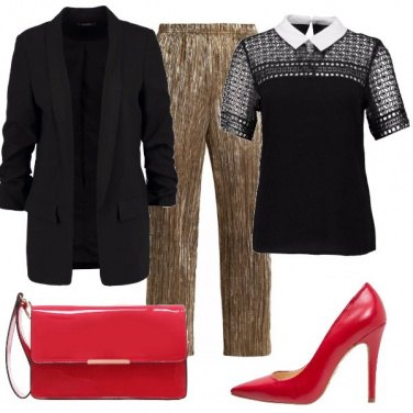 Outfit Sabato chic