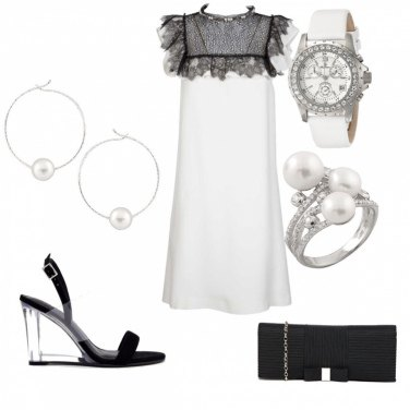 Outfit Chic pearls