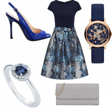 Outfit Blue and Grey
