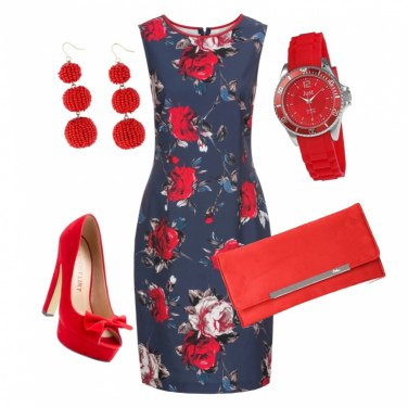 Outfit Rosso passion
