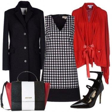 Outfit Il rosso per spezzare