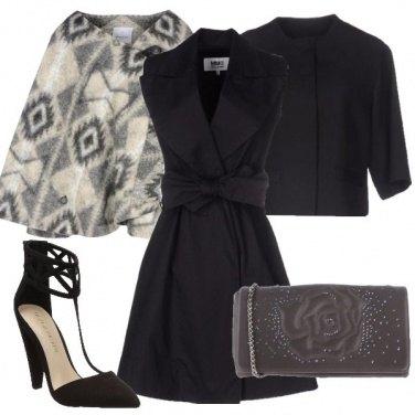 Outfit Rose, fiocchi e geometrie