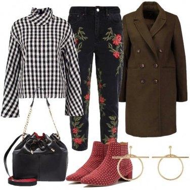 Outfit Trendy e di carattere