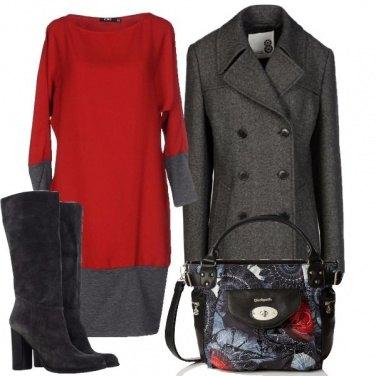 Outfit Bordi a contrasto