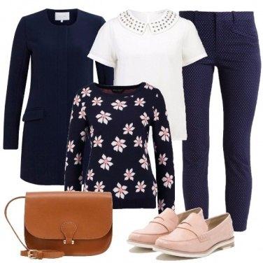 Outfit Delicati contrasti